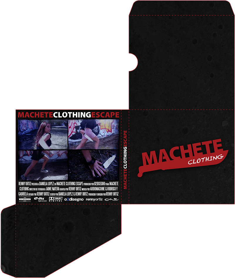 Machete-Packaging